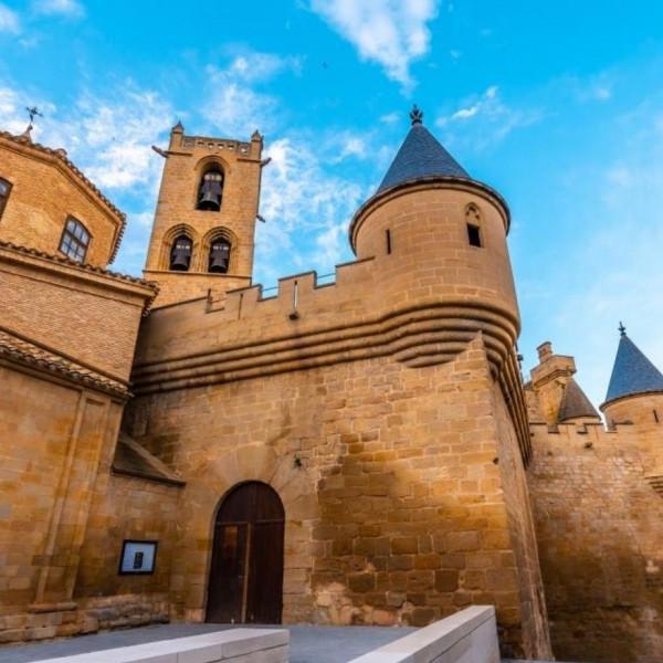 Entrada Palacio Real de Olite