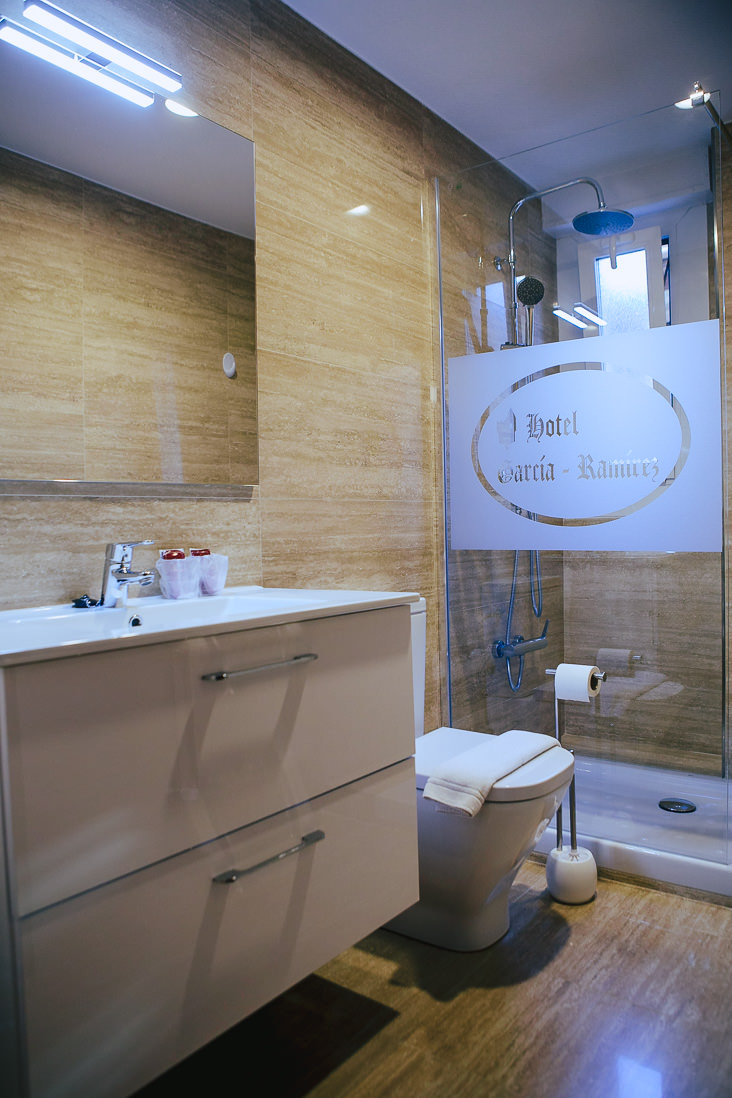 Baño habitación Ducay