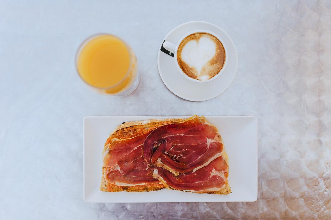 Desayuno mediterraneo Ducay